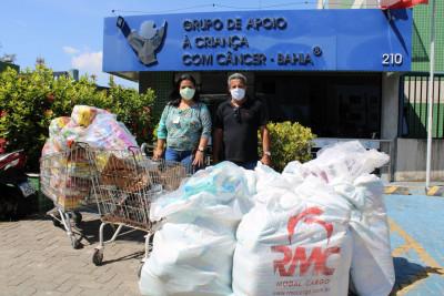 Doação da Comercial Allcare Bahia