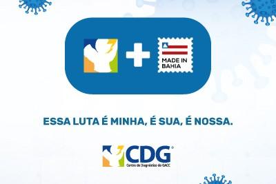 CDG apoia a campanha Made in Bahia