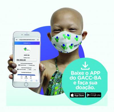 GACC-BA inaugura aplicativo de doação
