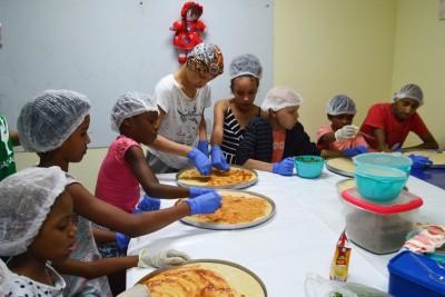Pacientes celebram o Dia da Pizza