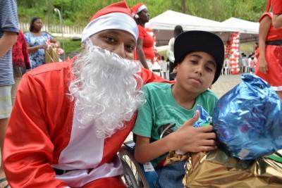 GACC-BA promove Festa de Natal para os pacientes