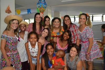 Pacientes iniciam os festejos juninos